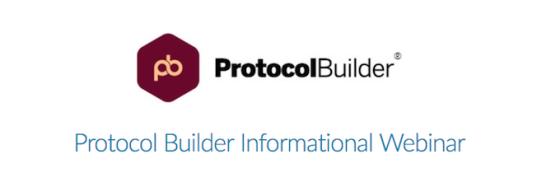 protocol builder webinar